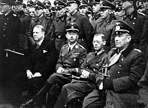 Himmler and Quisling