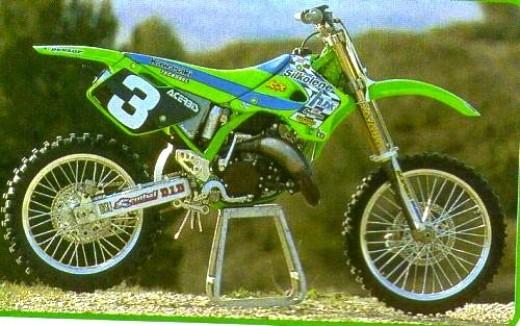 THE bike Seb Tortelli's 96 125 Kawasaki