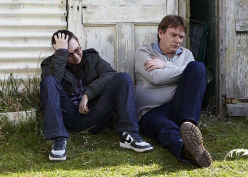 Ben tells him it was an accident, but will Ian agree to keep quiet??