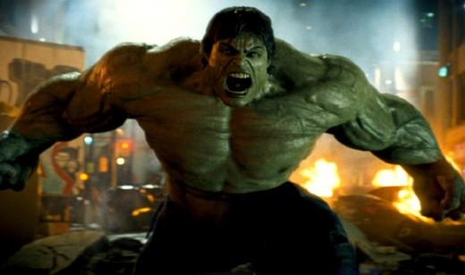 The monstrous Hulk