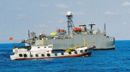 The spark- Chinese fishing boat seized by the Philippine Navy