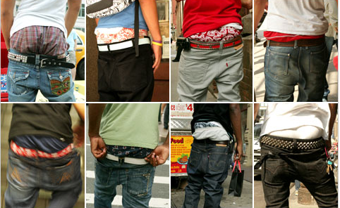Low waist jeans: The crack epidemic
