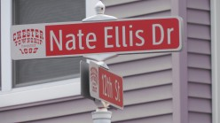Nate Ellis Drive, is located within the Fairgrounds where 1st phase of 72 units of beautiful newly constructed homes are located for low income residents.