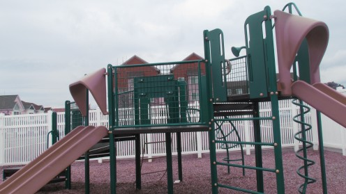 Playground at the Community Center in the Fairgrounds.
