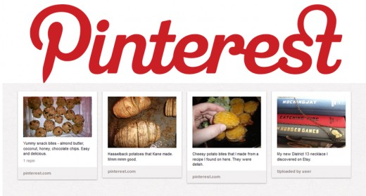 Pinterest allows users to create photo bookmarks of the things that interest them.