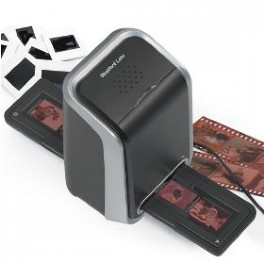 Film And Slide Image Scanner