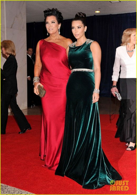 KIM DARDASHIAN (RIGHT) AND KRIS JENNER, HER MOM. READ STORY BELOW TO FIND OUT WHY SHE WILL\ NEVER BE A COUPLE WITH ME.