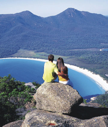 Tasmania is famous for it's visas and nature trails.