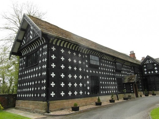 Samlesbury Hall looks much as at did in 1612 at the time of the Lancashire witch trials.
