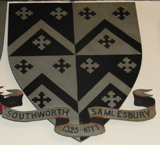 The Southworth family crest.
