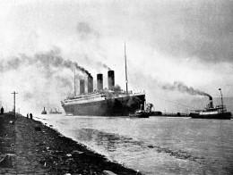 RMS Titanic sea trials, April 2, 1912