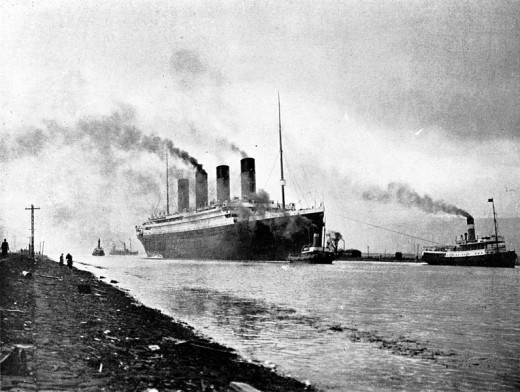 RMS Titanic sea trials, April 2, 1912