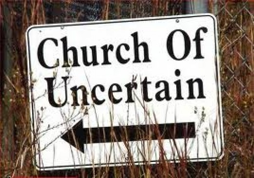 The Liberal Church- We're not sure what goes, but probably most things...