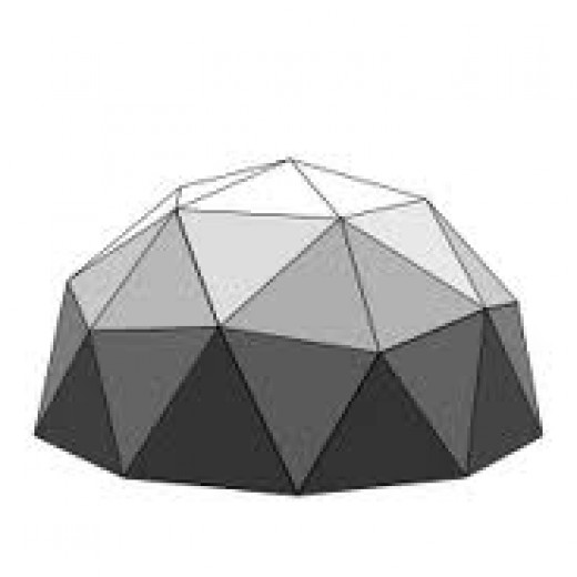 2V (two frequency) Geodesic Dome