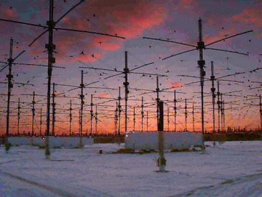 HAARP (High frequency Active Aurora Resonance Program is one of the developments of Teslian technology built upon the ideas and findings of Nikola Tesla. Power is transmitted via the ionosphere at the juncture of the geomaganetic field and the ground