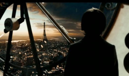 Hugo Viewing Central Paris