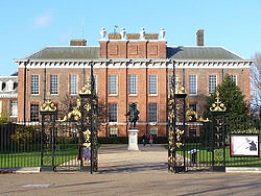 Kensington palace, UK