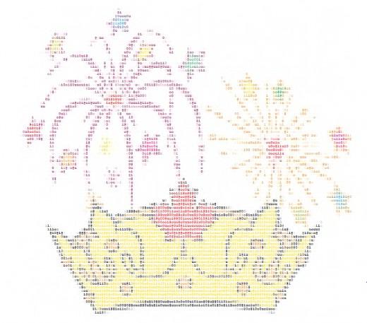 One Line Ascii Art Beach : Ascii fireworks