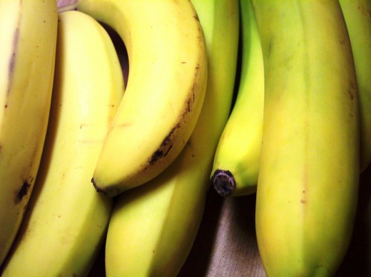 Bananas are a healthy source of l-tryptophan