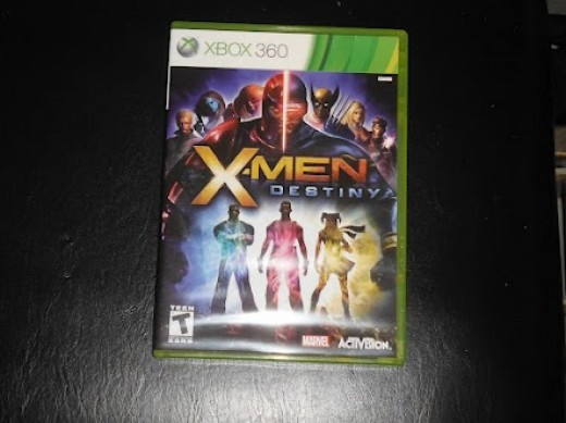My copy of X-Men: Destiny