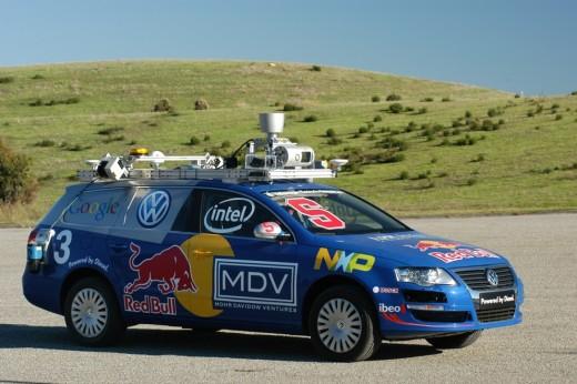 Google Robot controlled car