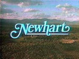 Opening title of Newhart TV series