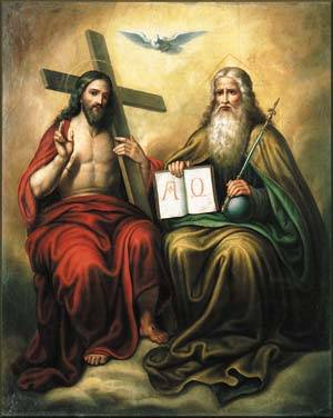 """The word """"Trinity"""" is not in the Bible, but the reality of it is shown in the God the Father, God the Son, and God the Holy Spirit."""