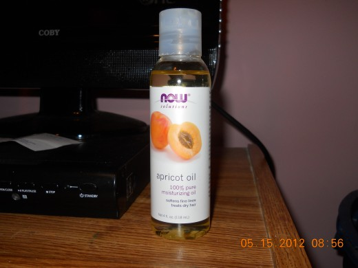 Apricot Oil to Mix w/ the purification masque