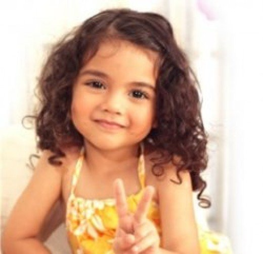 cute haircuts for little girls with curly hair