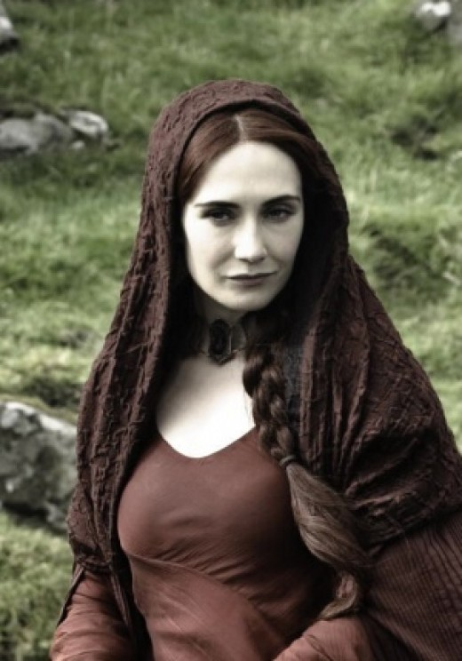 The night is dark and full of terrors: Melisandre