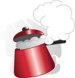 A rise in your blood pressure can be closely compared to the steam building inside a pressure cooker. So as you can see from the illustration, if the steam gets too intense, it can literally blow the lid off unless the heat is turned down.