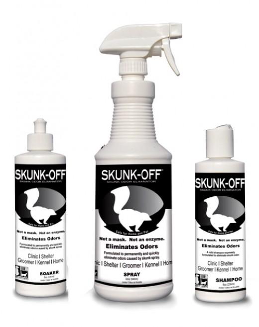 Skunk Spray Eliminator Kit