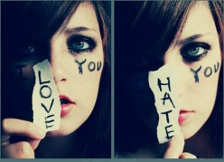 Is love to close of a friend to hate?