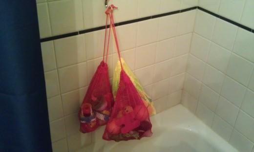 bath toys!