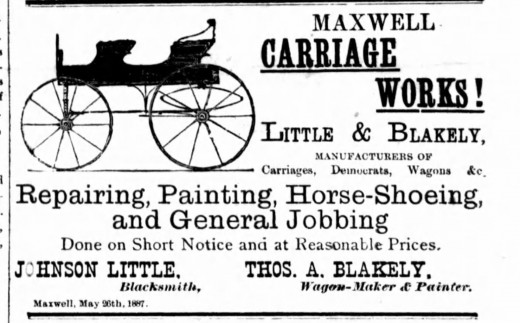 This was an advertisement my 2x great grandfather ran in several issues of the Flesherton Advance Newspaper in the 1880's