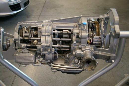 Porsche PDK Semi-Automatic Transmission