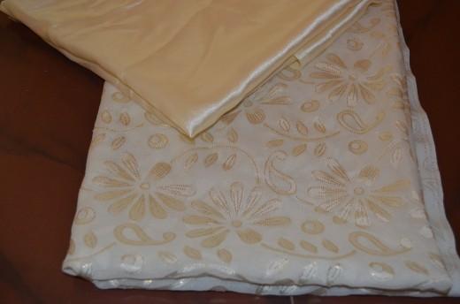 Satin and Main cloth