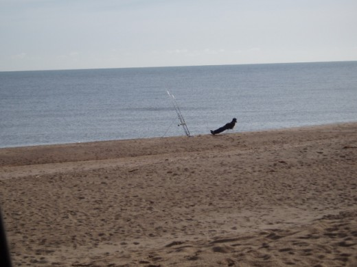 solitude-beach fishing