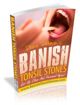 how to clean out tonsil