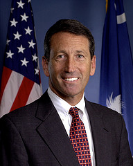 """Mark Sanford, former governor of South Carolina had an adulterous affair with a lady from South America. But he called it, """"an unappropriate relationship."""" Same thing."""