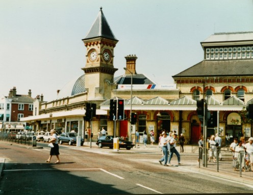 Railroad Station, Eastbourne, East Sussex