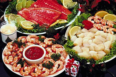 The best seafood restaurants in Barcelona.