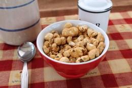 Organic Honey Puffed Corn