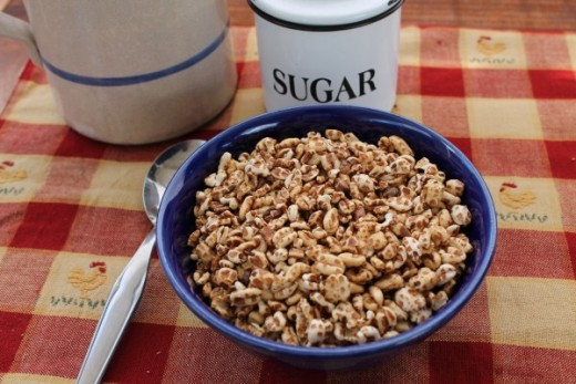 Organic Puffed Wheat