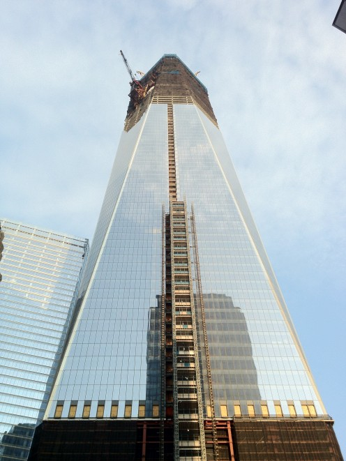 Freedom Tower 4-14-2012