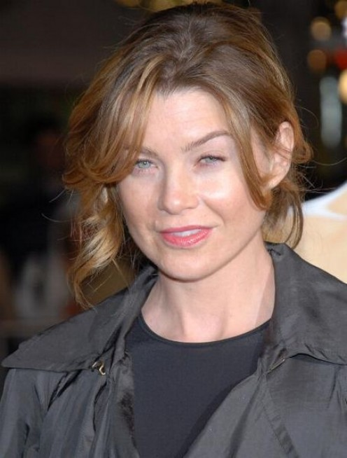 Ellen Pompeo, top billed in Grey's Anatomy