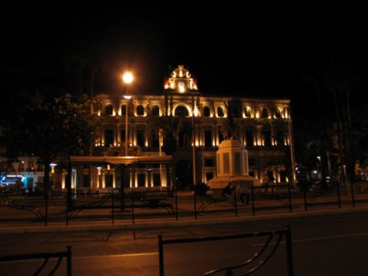 Cannes Hotel de Ville--city hall