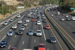 Take a good look, vacationers. This is where most travelling vacationers go--on the freeway headed to somewhere distant on vacation. You will need my games for keeping down stress.
