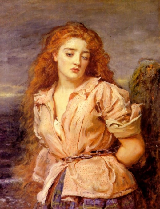 John Everett Millais, 'The Martyr of the Solway', c. 1871.