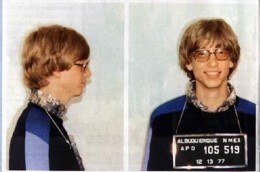 A  young Bill Gates.